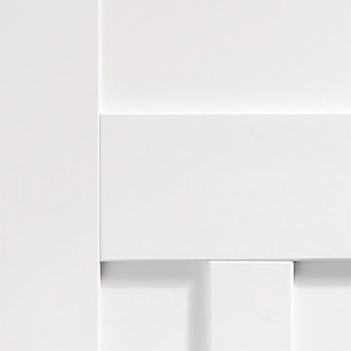 xl joinery dx 1930s 4 panelled internal white primed door close up