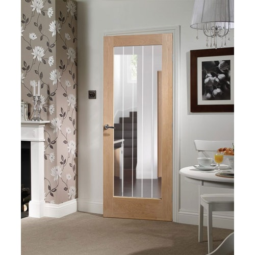 xl joinery suffolk 1l etched clear glazed door living room
