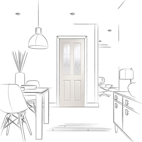 xl joinery victorian glazed internal white moulded door drawing