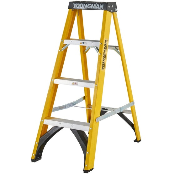 youngman swingback s400 grp trade step ladder
