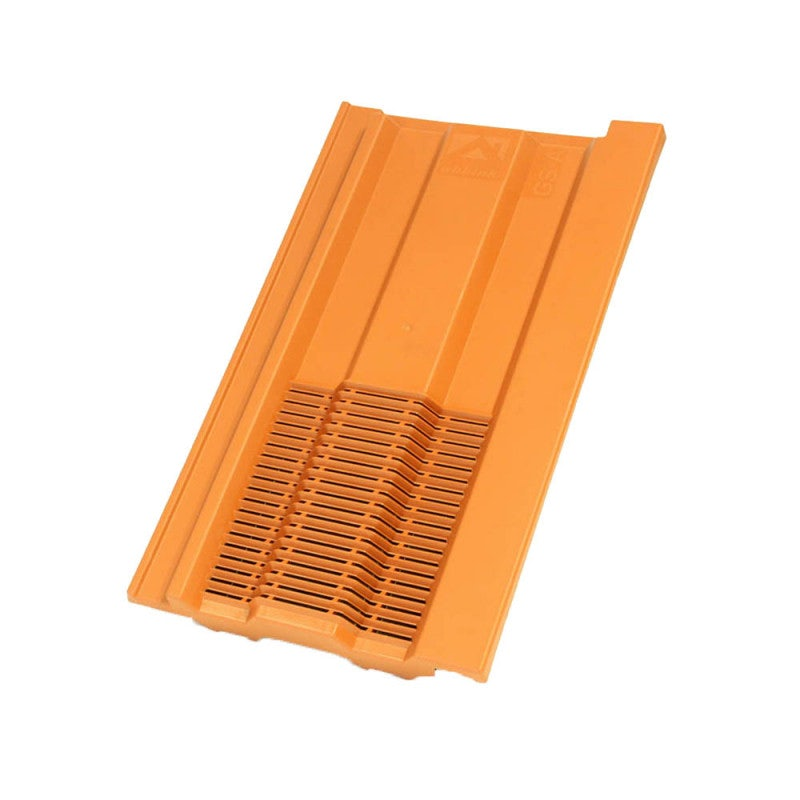 Ubbink UB62 Mini Castellated In-line Roof Tile Vent - Terracotta