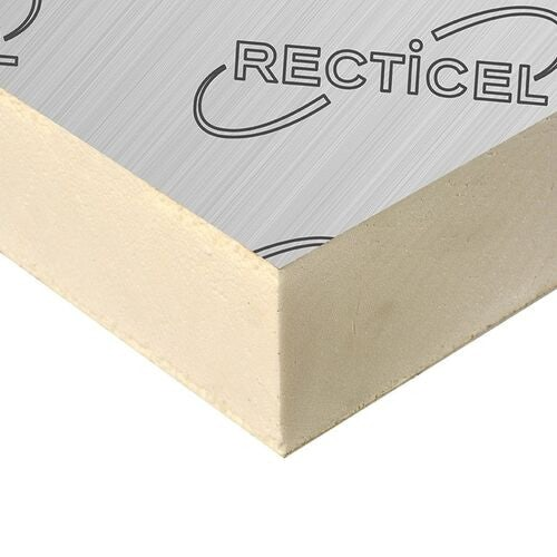 30mm Recticel Eurothane GP Rigid Insulation Board - 2.4m x 1.2m