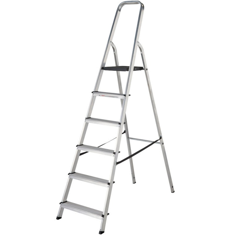 Werner 6 Tread High Handrail Stepladder - EN131