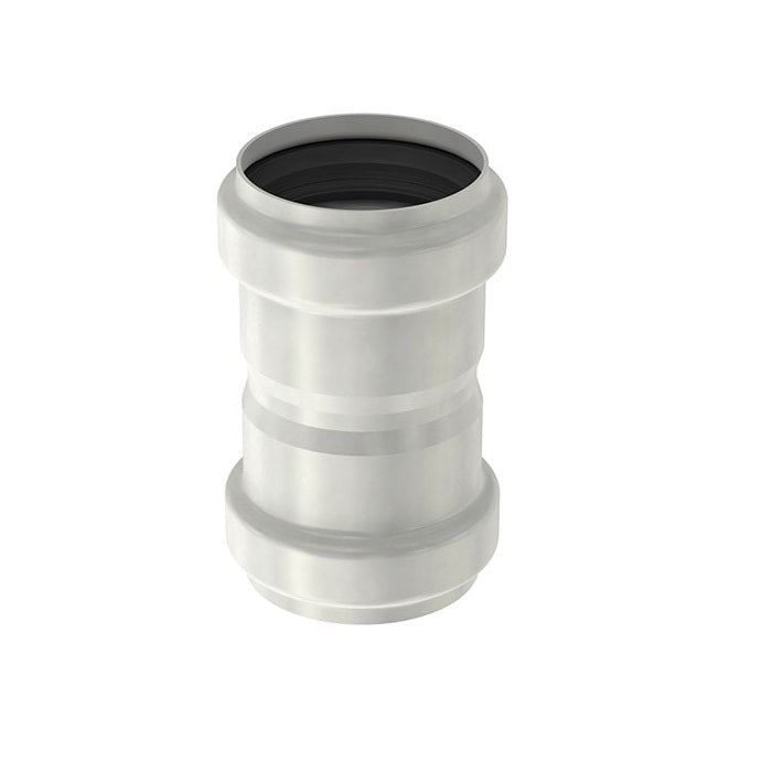 ACO 304 Stainless Steel Single Socketed Pipe Coupler - 200mm