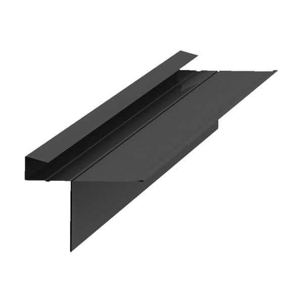 Kytun Aluminium Dry Verge for Man-Made Slates T2 18mm - 4 Pack