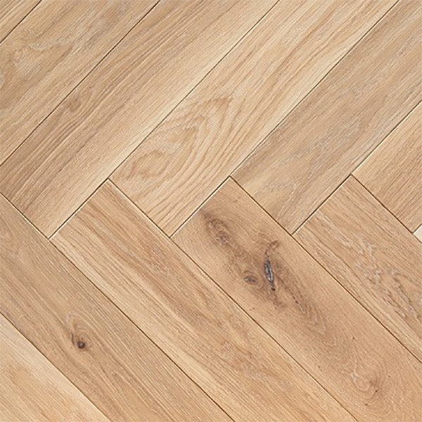 Atkinson & Kirby Parquet Engineered Oak Flooring Herringbone Shrewsbury Oiled