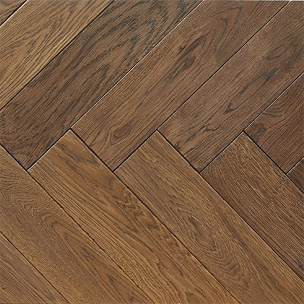 Atkinson & Kirby Parquet Engineered Oak Flooring Herringbone Westminster Oiled