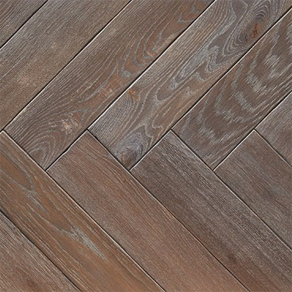Atkinson & Kirby Parquet Engineered Oak Flooring Herringbone Epsom Oiled