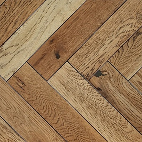 Atkinson & Kirby Parquet Engineered Oak Flooring Herringbone Dulwich Limed Oiled