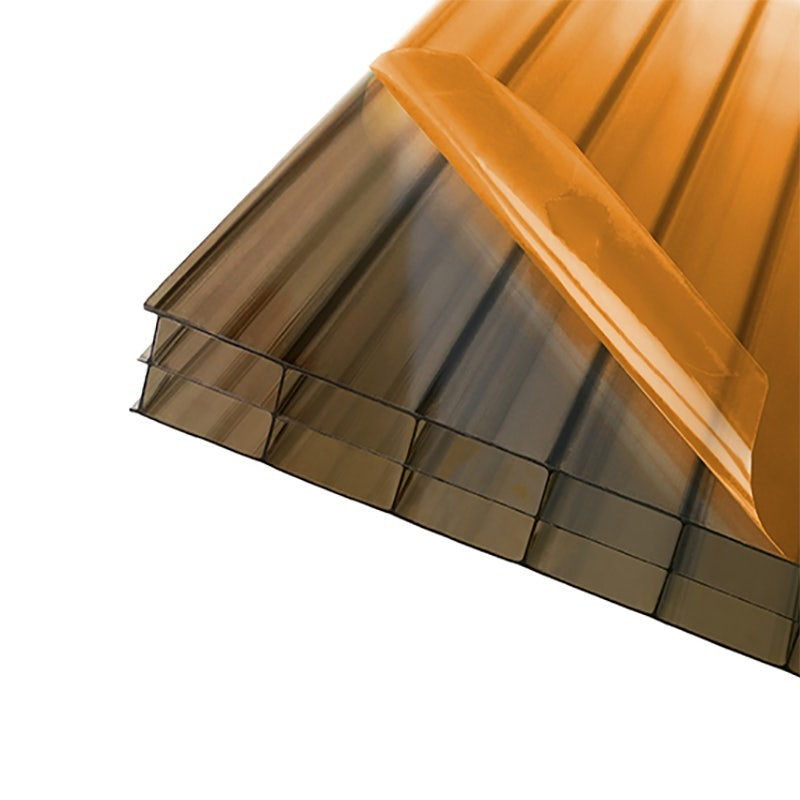 Axiome 16mm Bronze Triplewall Polycarbonate Roof Sheet