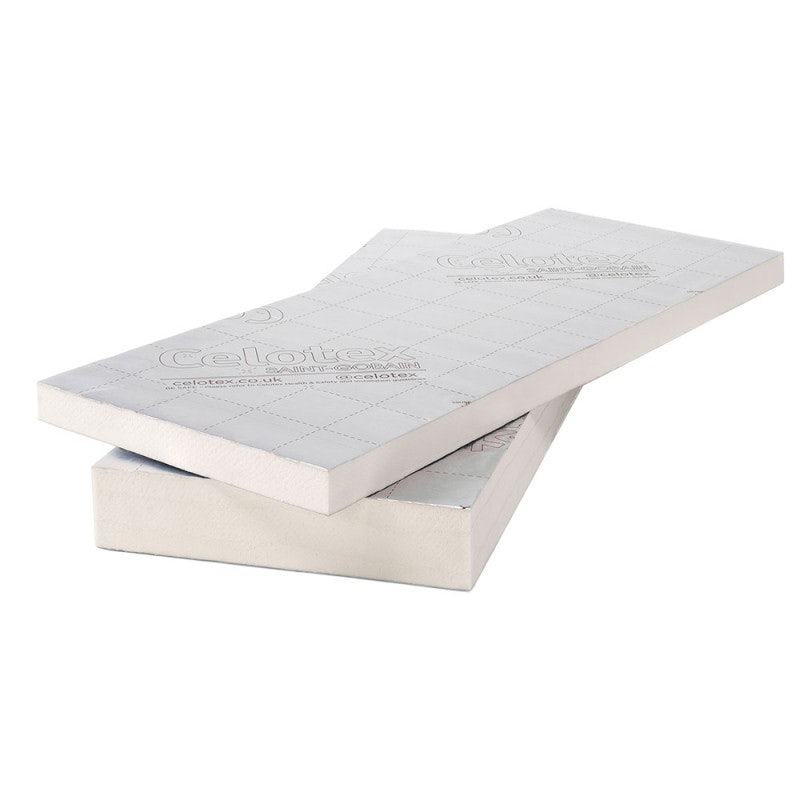 Celotex 50mm Cavity Wall Insulation Board CW4050 1.2m x 450mm - 5.94m2 Pack