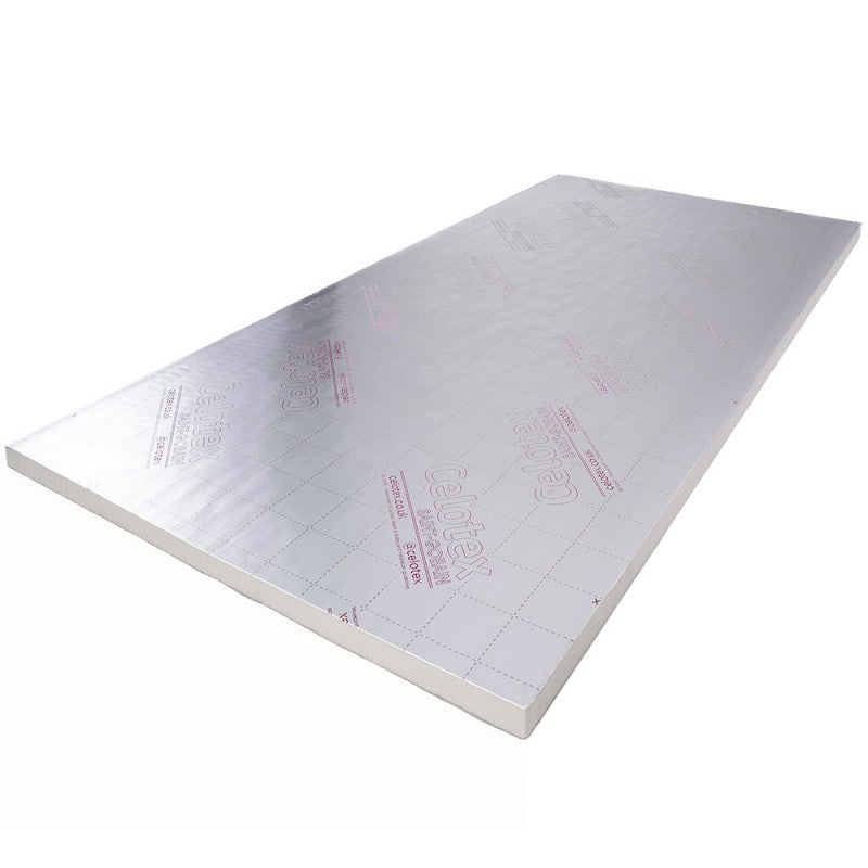 Celotex GA4100 100mm PIR Insulation Board - 2.4m x 1.2m