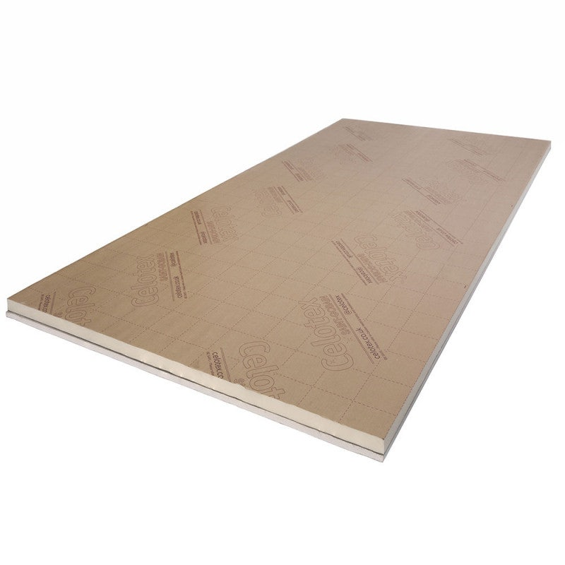 Celotex 62.5mm Insulated Plasterboard PL4050 1.2m x 2.4m