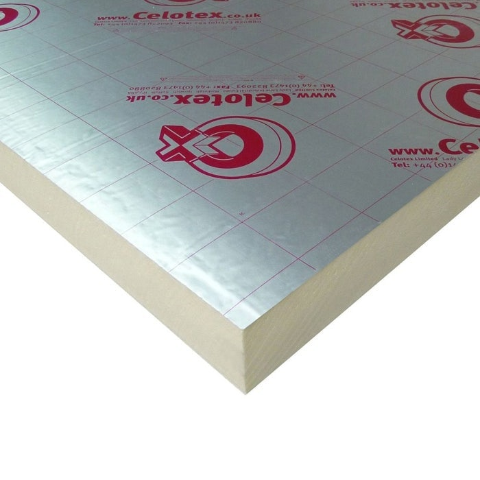 Celotex 50mm GA4050 Insulation Board - 2.4m x 1.2m