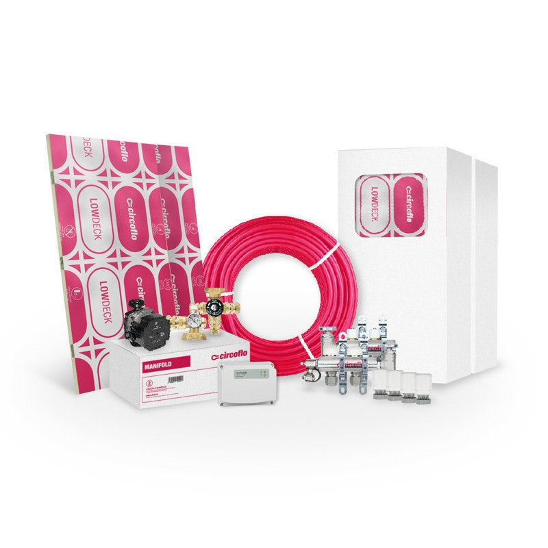 CircofloPro 40m2 Water Underfloor Heating Kit
