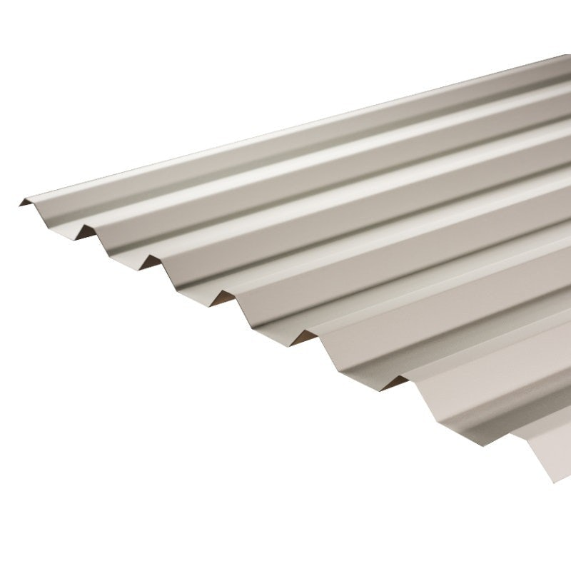 Cladco 34/1000 Box Profile PVC Plastisol 0.7mm Metal Roof Sheet in Goosewing Grey