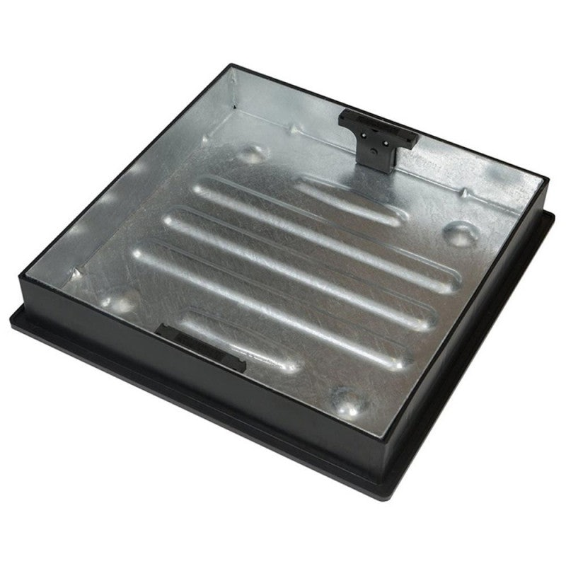 Clark Drain 5 Tonne GPW Recessed Manhole Cover and Frame 580 x 580 x 54mm