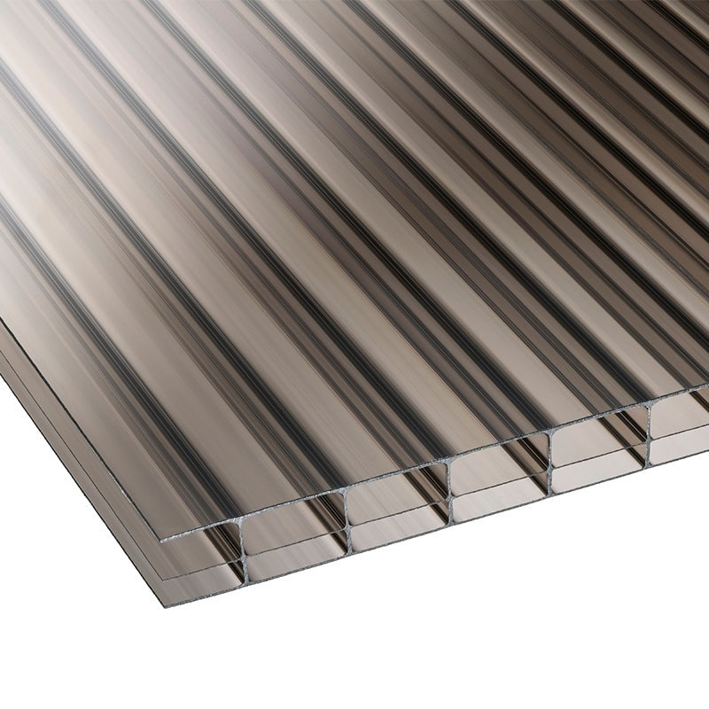 Corotherm 16mm Bronze Triplewall Polycarbonate Roof Sheet