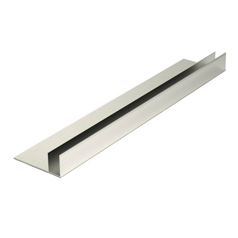 Corotherm Clickfit 16mm Aluminium Side Flashing - 3000mm