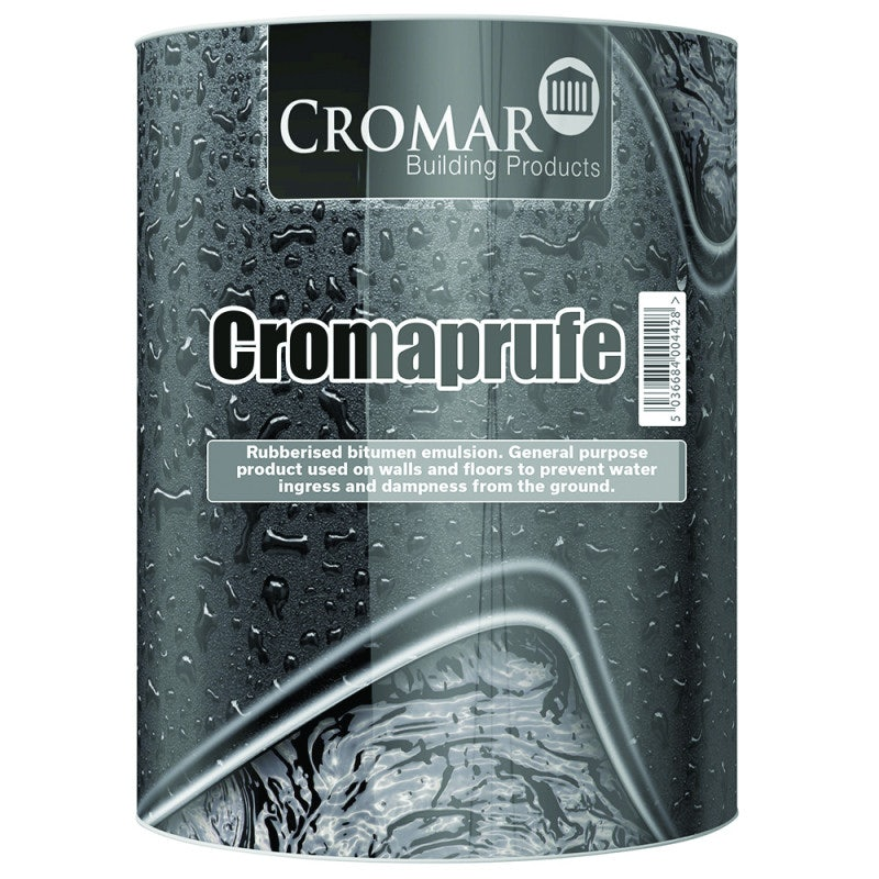 Cromaprufe Roof Coating - 25kg Black
