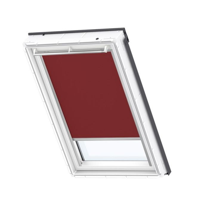 VELUX Blackout Blind in Dark Red