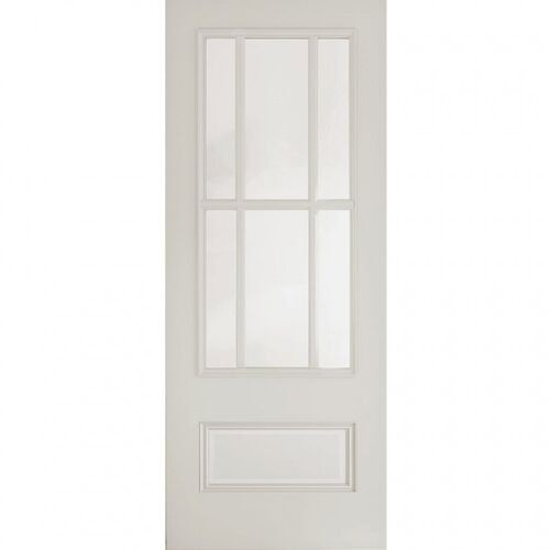 Deanta Internal White Primed Canterbury Glazed Door