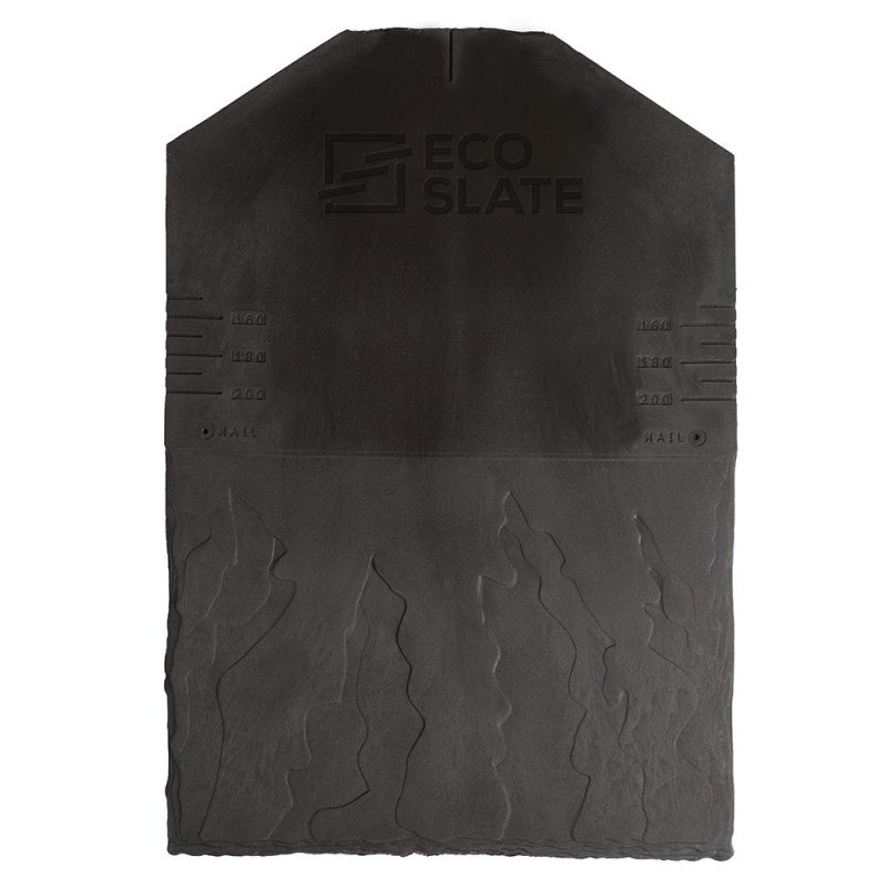 Eco Slate Recycled Plastic Slate Roof Tile - Pack of 34