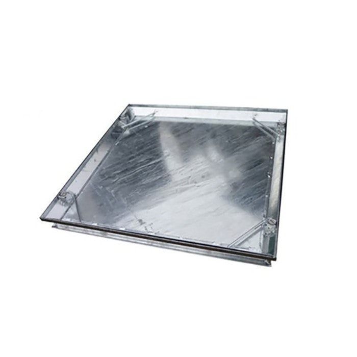 Stainless Steel Edged Recessed Manhole Cover Double Sealed 450 x 450mm