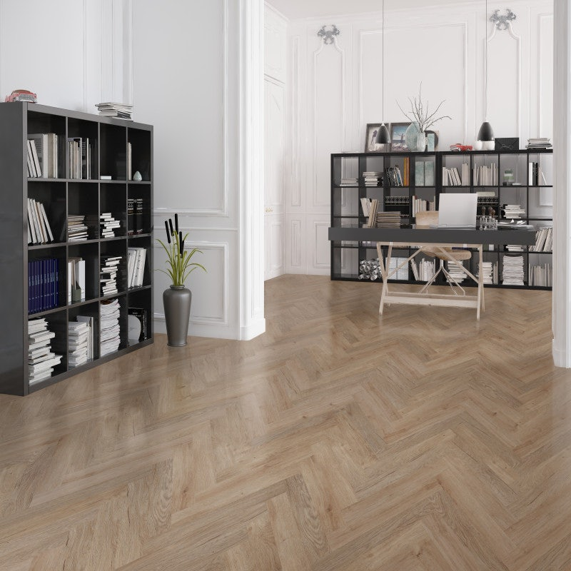 Eternity Parquet LVT Stave Light Birchwood