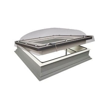 FAKRO DEC-C P2 Polycarbonate Z-Wave Wireless Opening Flat Roof Dome
