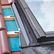 FAKRO EZV-A/01 Standard Window Flashing For Up To 45mm Interlocking Tiles - 55cm x 78cm