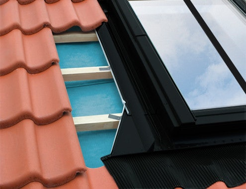 FAKRO EHN-A/C B2/2/03 4 Block Combination Conservation Flashing For Up To 90mm Interlocking Tiles - 66cm x 98cm