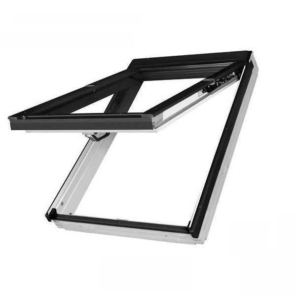 FAKRO FPW-V White Painted Dual Top Hung Roof Window