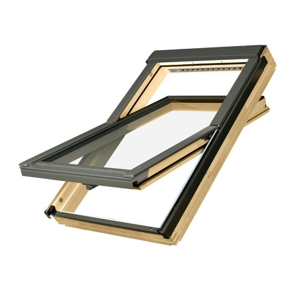 FAKRO FTP-V Pine Centre Pivot Roof Window