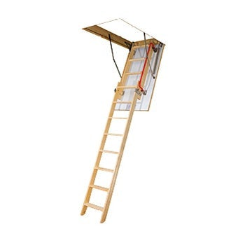 Fakro LDK Sliding Section Wooden Loft Ladder
