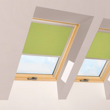 FAKRO Blackout Blind ARF in Lime Green