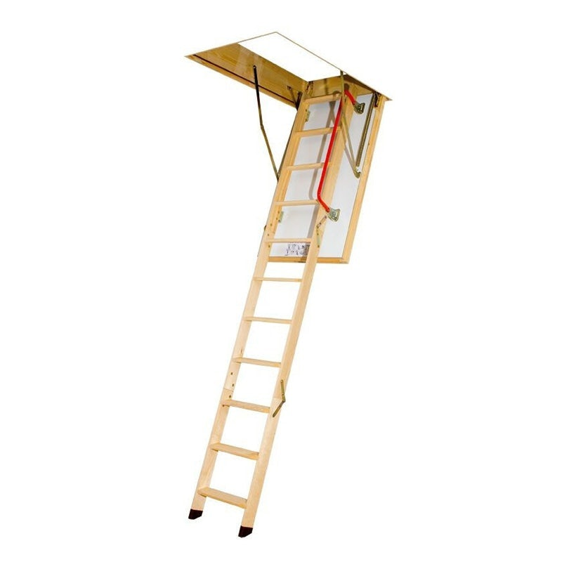 Fakro Thermo 3 Section Wooden Loft Ladder 2.8m Length