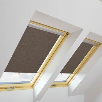 FAKRO Roller Blind ARS in Dark Brown