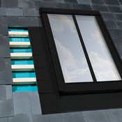 FAKRO ELJ/C/03 Conservation Flashing For Up To 10mm Recessed Slate Roof - 66cm x 98cm