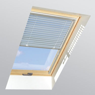 FAKRO Venetian Blind AJP in Metallic Pale Blue