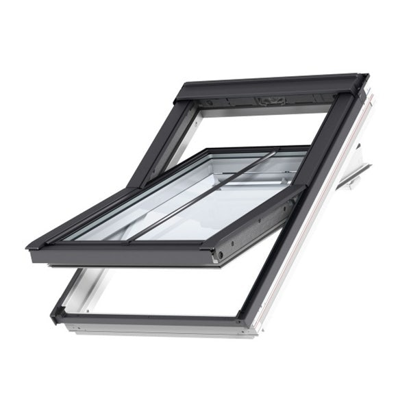 VELUX GGL SD5P2 White Painted Centre Pivot Conservation Window for 15mm Tiles