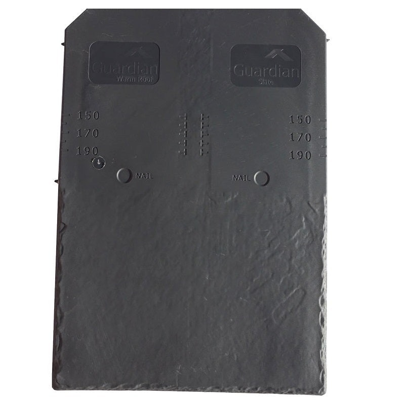 Guardian Synthetic Slate Roof Tiles 445mm x 294mm - Pack of 22
