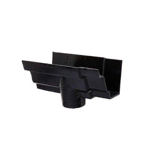 Hargreaves Cast Iron G46 Moulded Gutter Running Outlet