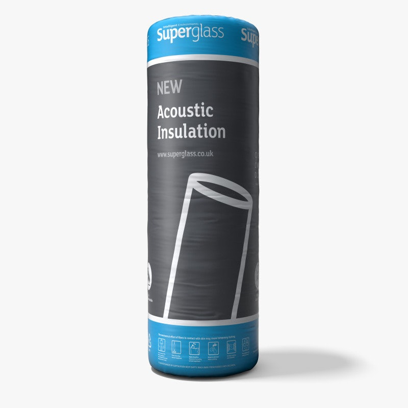 Superglass Acoustic Partition Roll Insulation