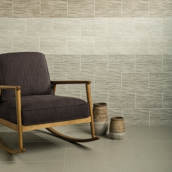 Johnson Tiles Drift Summer Shadows Linear Matte Glazed Ceramic Wall Tile