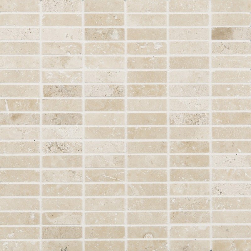 Johnson Tiles Natural Mosaics Travertine Polished Stone Wall Tile