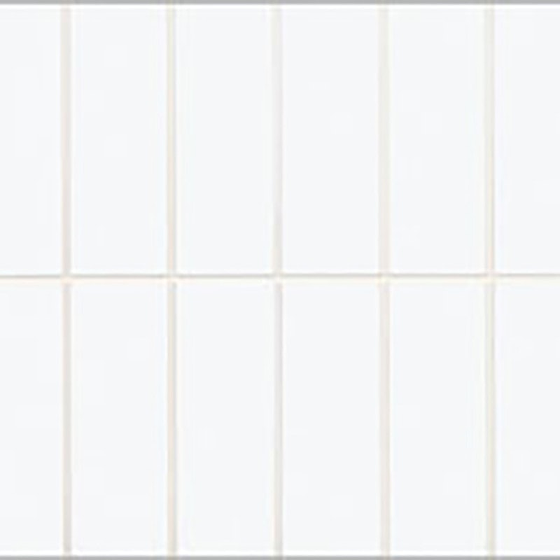 Johnson Tiles Polar White Scored Two Way Gloss Glazed Ceramic Wall Tile