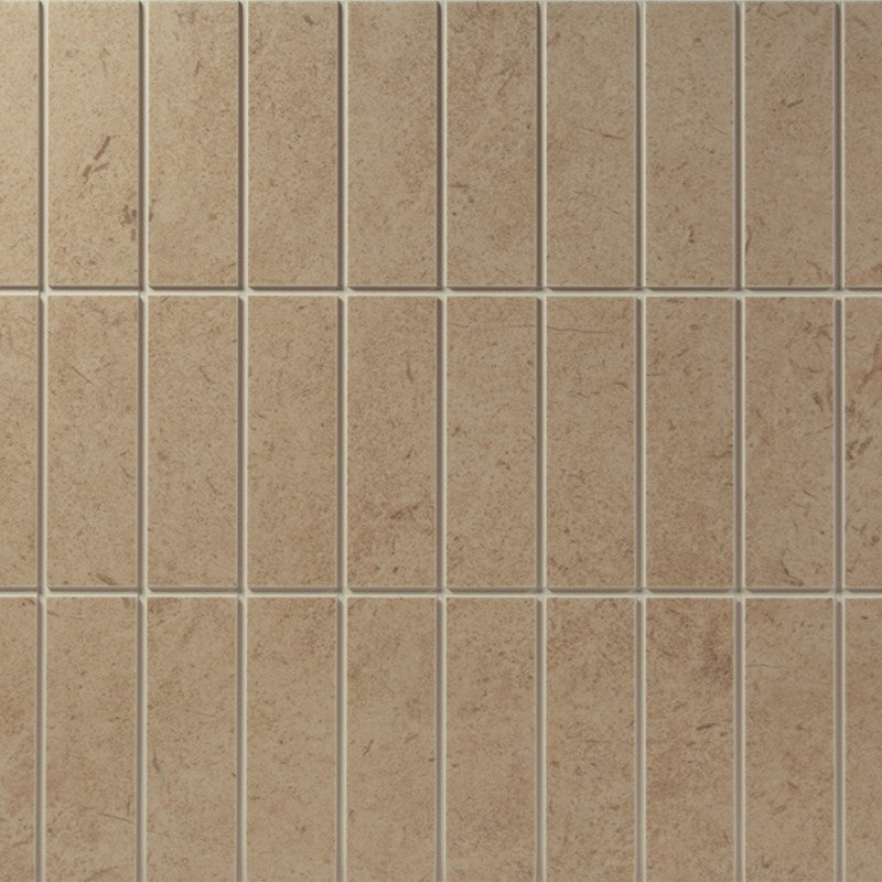 Johnson Tiles Urbanique Honey Scored Matte Glazed Ceramic Wall Tile