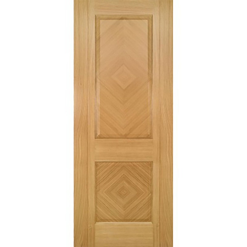 Deanta Internal Oak Kensington Panelled Door
