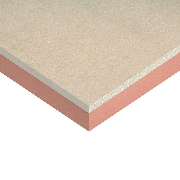 Kingspan Kooltherm K118 Insulated Plasterboard 62.5mm 2400mm x 1200mm - 34.56m2 pack (12 sheets)